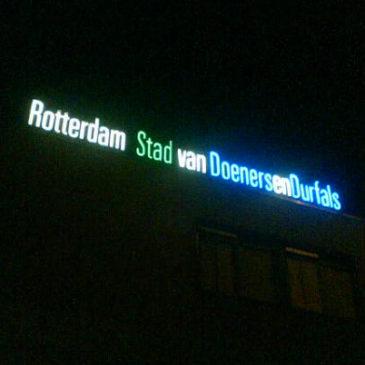 Rotterdam, stad van doeners en durfals